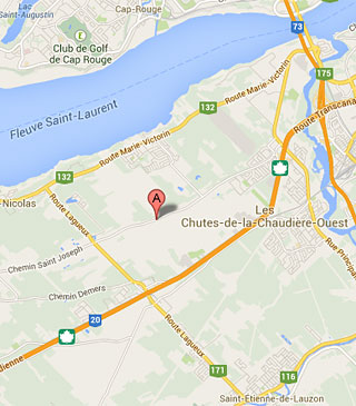 Trouvez FL Methot inc. sur la carte Google